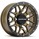 Black/Bronze Raceline A94 Krank Simulated Beadlock 14x7 Wheel - A94BZ-47056+38