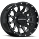 Black Raceline A95 Trophy Simulated Beadlock 14x7 Wheel - A95B-47037+10