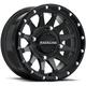 Black Raceline A95 Trophy Simulated Beadlock 14x7 Wheel - A95B-47037+38