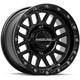 Black Raceline A93 Podium Beadlock 14x7 Wheel - A93B-47037+10