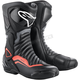Black/Gray/Red SMX-6 v2 Boots