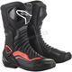 Black/Gray/Red SMX-6 v2 Vented Boots