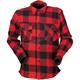 Black/Red The Duke Flannel Shirt
