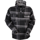 Black/Gray Timber Flannel Shirt