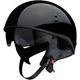 Black Vagrant Half Helmet