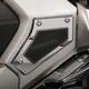 Chrome Swingarm Pivot Covers - 78110