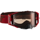 Ruby/Red Velocity 6.5 Goggles w/Rose Anti-Fog Lens - 8019100030