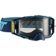 Ink/Blue Velocity 6.5 Goggles w/Light Gray Anti-Fog Lens - 8019100031