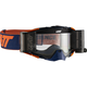 Ink/Orange Velocity 6.5 Roll-Off Goggles w/Clear Anti-Fog Lens - 8019100050