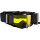 Black/Gray Velocity 6.5 Roll-Off Goggles w/Yellow Anti-Fog Lens - 8019100051