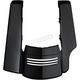 Vivid Black Stretched 2 into 1 Tri-Bar Fender Extension - HW107148
