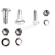 Chrome Headlamp Bracket Mount Kit - 37-0527
