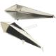Nickel Spear Saddlebag Spot - 37-8871