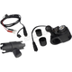 Black Dual USB Port Charger w/ 1 in. Ball Mount and Socket Arm  - 300166-1