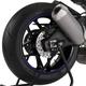 Blue Rim Strip Graphics - 8431A