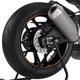 Orange Rim Strip Graphics - 8431T