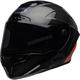 Matte/Gloss Black/Orange Race Star Flex DLX Lux Helmet