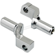 Chrome Replacement Clevis for Mushman Stepped Pegs - 0107-1639-05