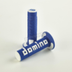 Blue/White Domino A360 Off-Road Comfort Grips - A36041C4846A70
