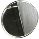 Early Style Round Face Mirror Chrome - 34-0600