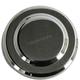 Brake Caliper Round Insert Chrome - 37-8970