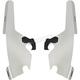 Polished Batwing Fairing Plate-Only Hardware - MEK1744