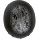 Matte Black/Silver Hard Luck Bagger 568 Helmet