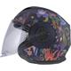 Matte Navy/Purple Verso Flora Brasil Helmet