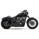 Black 909 Speedster Short Exhaust System - 6705B