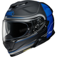 Matte Black/Blue GT-Air II Crossbar TC-10 Helmet