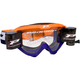 Fluorescent Orange/Blue 3450 Riot Goggles w/Roll-Off System - PZ3450ROAFBL