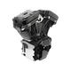 Wrinkle Black T124 Long Block Engine - 310-0900A