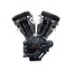 Black T124 Long Block Engine - 310-0835A