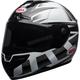 White/Black SRT Predator Helmet