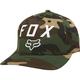 Green Camo Number 2 FlexFit Hat