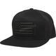 Black Patriot Snapback Hat - 22997-001-OS