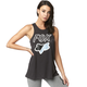 Women's Black Vintage Civic Stadium Tank Top