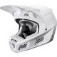 White/Silver V3 Helmet