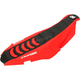 Black/Red Double Grip 3 Seat Cover - 1144HUS