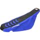 Black/Blue Double Grip 3 Seat Cover - 1236H