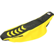Black/Yellow Double Grip 3 Seat Cover - 1318HUS