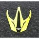 Matte Hi-Vis Yellow/Black Visor for GM11D Expedition Dual Sport Helmet - G011092
