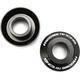 Gloss Black Fast Rear Wheel Spacers - 0222-0542