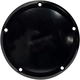 Black Milwaukee-Eight Smooth Derby Cover - 203861B