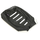 Black/White Gripper Ribbed Seat Cover - CAT-102-337