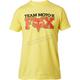 Yellow Team Moto X SS T-Shirt