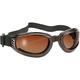 Black Nomad Goggles w/Brown Gradient Lens - 4521