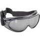 Black Goggles w/Silver Mirror Lens - 6810