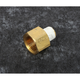 3/8 in. F NPT to 1/4 in. M  NPT Hex Adapter - 53814A