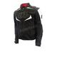 Black/White Melbourne Air 2.0 Waterproof Textile Motorcycle Riding Jacket